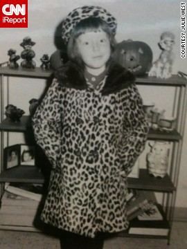 "At 5 years old, <a href='http://ireport.cnn.com/docs/DOC-949032'>Julie West </a>wore a matching coat and hat in 1967. ""I fancied myself a movie star or model wearing them,"" she says. ""My mom really liked to dress nicely. Once she settled into her life in Chicago, she loved to shop and always made sure we wore the latest fashions."""