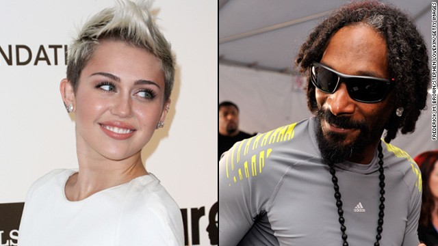 Miley Cyrus, Snoop Lion team up for 'Ashtrays and Heartbreaks'