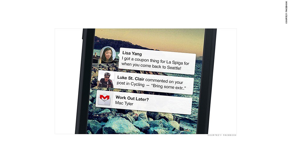 2013: Facebook para celulares