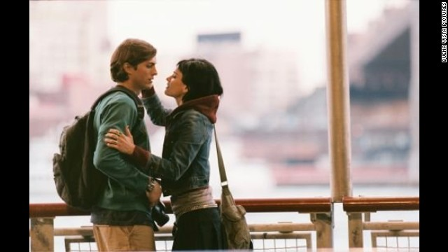 "After seeing ""A Lot Like Love,"" Ebert wrote: ""Judging by their dialogue, Oliver and Emily have never read a book or a newspaper, seen a movie, watched TV, had an idea, carried on an interesting conversation or ever thought much about anything. The <a href='http://rogerebert.suntimes.com/apps/pbcs.dll/classifieds?category=REVIEWS01&TITLESearch=A%20Lot%20Like%20Love&ToDate=20131231' target='_blank'>movie</a> thinks they are cute and funny, which is embarrassing, like your uncle who won't stop with the golf jokes."" Ashton Kutcher and Amanda Peet were Oliver and Emily."