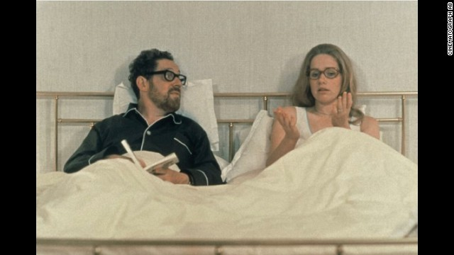 """And so begins one of the truest, most luminous love stories ever made, Ingmar Bergman's<a href='http://rogerebert.suntimes.com/apps/pbcs.dll/article?AID=/19740915/REVIEWS/301010328' target='_blank'> 'Scenes From a Marriage.'</a> The marriage of Johan and Marianne will disintegrate soon after the film begins, but their love will not,"" wrote Ebert. Erland Josephson and Liv Ullmann played the couple."