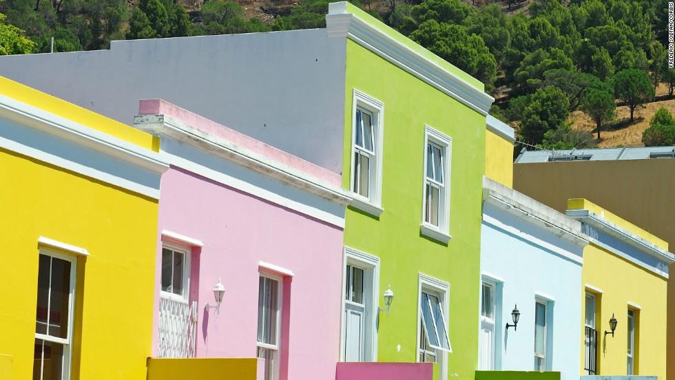 Bo-Kaap, Ciudad del Cabo, Sudáfrica