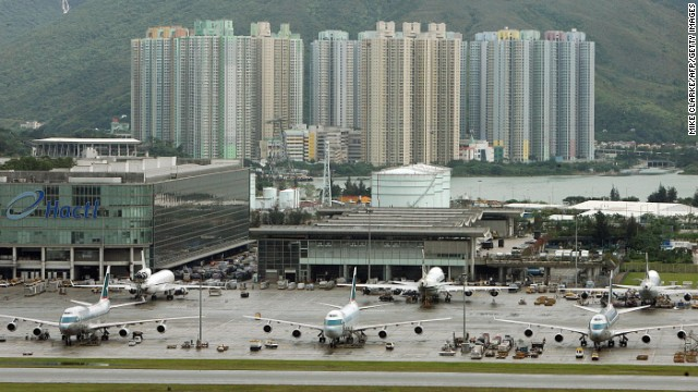 Hong Kong International Airport kept its fourth-place spot in the best airport award category. It also won awards for best dining experience and best baggage delivery.