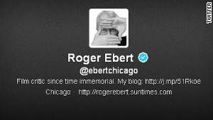 Ebert had over 840,000 followers on Twitter, where he regularly interacted with them in ways many celebrities don\'t.