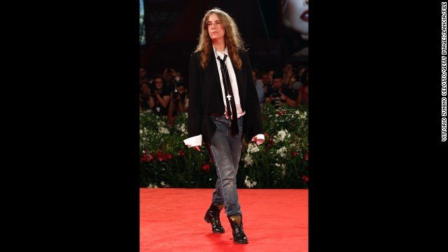 Musician Patti Smith also belongs to the <a href='http://www.biography.com/people/patti-smith-9487150?page=1' target='_blank'>canon of quintessential tomboys </a>in style and substance. Before breaking into New York's male-dominated punk rock scene in the 1970s and achieving mainstream success with the Patti Smith Group, she held a job in a toy factory, dated photographer Robert Mapplethorpe, published a book of poetry and wrote for Rolling Stone. In addition to her musical chops, she taught a generation that it was possible to exude confidence and glamor in jeans, T-shirts and ties.