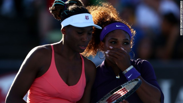 The Williams sisters Venus (left) and Serena have been two of the dominant stars of women's tennis in the past 15 years. In 2002, Venus became the first black woman to be ranked No. 1 in the Open Era.