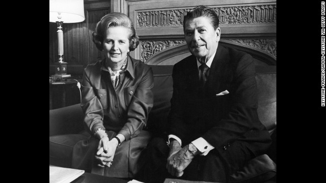 Photos: Thatcher and Reagan\'s friendship