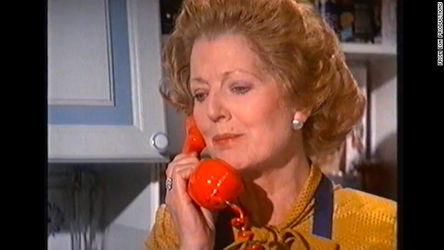 "Actress Janet Brown portrayed Thatcher in the 1981 James Bond film ""For Your Eyes Only."""