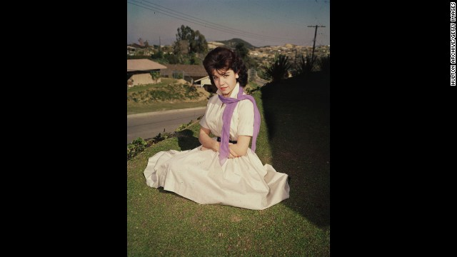 "Annette Funicello, here in the mid-1950s, became famous as one of the original Mouseketeers on ""The Mickey Mouse Club."" Funicello, 70, died Monday, April 8, at a California hospital of complications from multiple sclerosis, the Walt Disney Co. said."