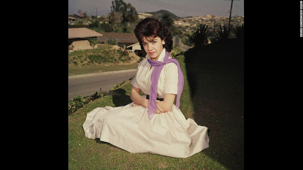"<a href='http://www.cnn.com/2013/04/08/showbiz/annette-funicello-obit/index.html'>Annette Funicello</a>, here in the mid-1950s, became famous as one of the original Mouseketeers on ""The Mickey Mouse Club."" Funicello, 70, died Monday, April 8, at a California hospital of complications from multiple sclerosis, the Walt Disney Co. said."