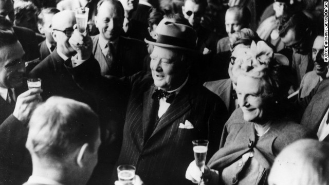 Raise a glass to Winston Churchill Day