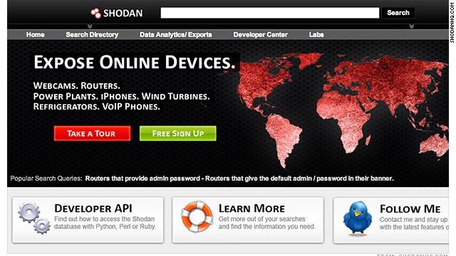 Shodan, el buscador más terrorífico de Internet