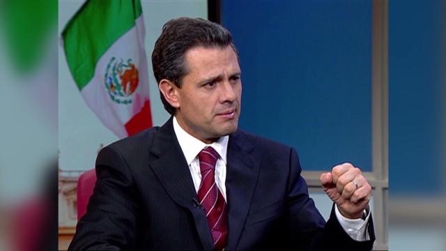 """Peña Nieto ofrece colaboración a Guerrero para mantener el """"estado de derecho"""""""
