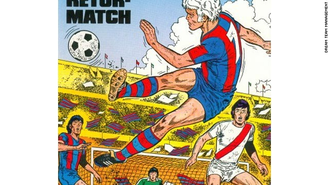 Eric Castel: Barelona and PSG\'s comic book hero