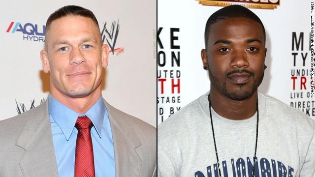 Professional wrestler John Cena is not a fan of Ray J's 'I Hit It First'