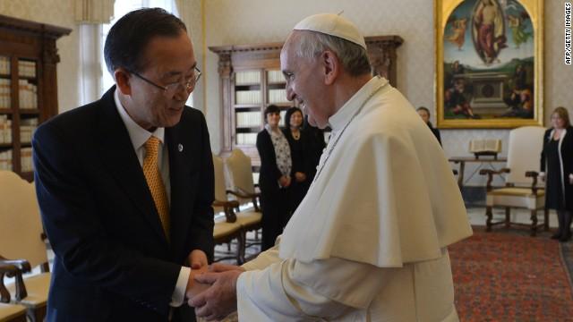 El Papa y Ban Ki-moon dialogan sobre el conflicto en la península de Corea