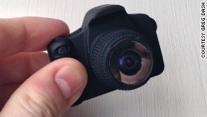 The world's tiniest fisheye camera