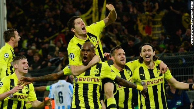 Dramatic night in Dortmund