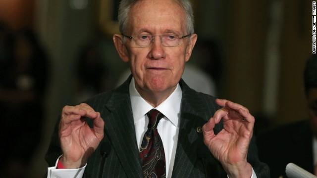 Reid optimista con el proyecto inmigratorio en el Senado