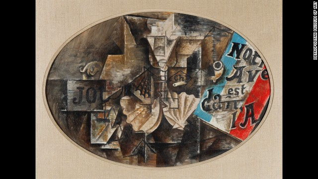 """The Scallop Shell"" by Pablo Picasso, May 1912."