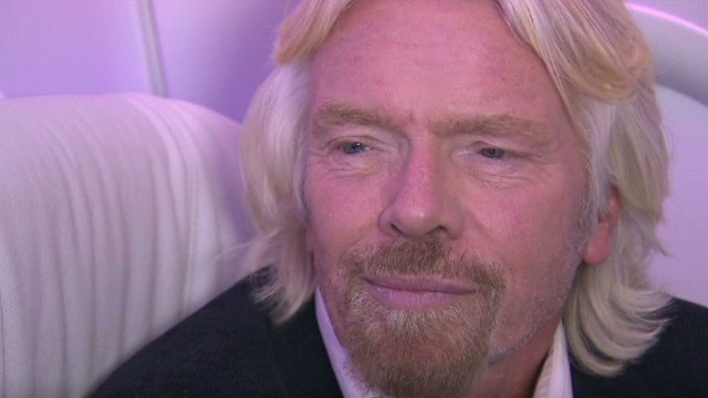 Virgin Group's Richard Branson explains Virgin America expansion, continues to break down barriers