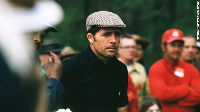 "Three-time Masters champion Gary Player earned his ""Black Knight"" nickname because of his tendency to wear all-black on the golf course. The world-class golfer is now 77 and his close-fitting, casual style is still popular among players today."