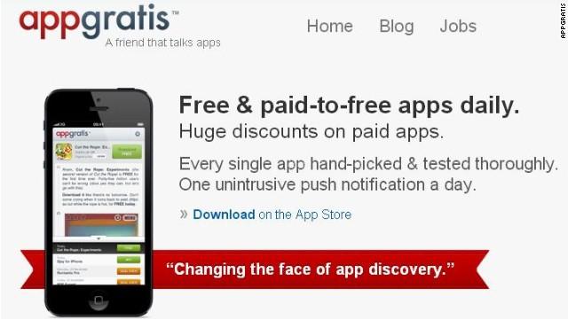 AppGratis, which helps Apple mobile users find other apps for free, has been banned by Apple for alleged violations of its terms.