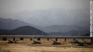 Photos: Militaries and Korean tensions