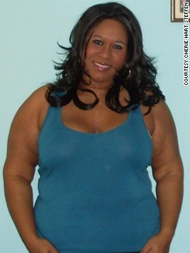 In February 2010, Cherie Hart Steffen weighed 230 pounds and had a BMI of 40. Her size-20 clothing was starting to get tight when she realized she needed to make a change.