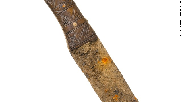 A Roman iron knife.