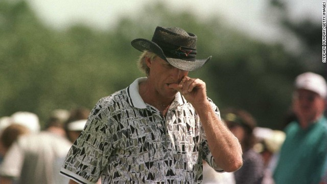No Australian has ever won The Masters and few will come as close as Greg Norman. Back in 1996, Norman threw away a six-shot lead to lose on the final day as Nick Faldo took the title. A playoff defeat by Larry Mize in 1987 and a missed birdie on the 18th the following year also caused heartache.