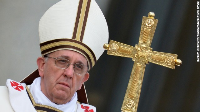 Pope Francis: `Gay lobby' exists inside Vatican