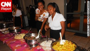 This school event in Tonga is one of the many places to try \'Ota \'ika.