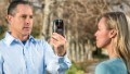 The AOptix wrap-around device turns an iPhone 4 or 4S into a portable iris, face, fingerprint and voice scanner.