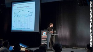 Hugo Teso told a crowd at an Amsterdam conference that he spent three years coding the tools he used.