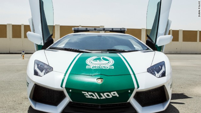 Watch Out Street Racers Dubai Cops Have Lamborghini Cnn Com