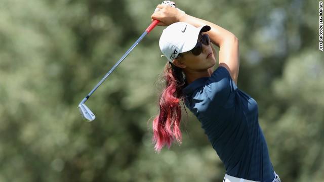 Michelle Wie of Honolulu made her mark on women's golf in 2000 by qualifying for a USGA amateur championship. She was 10 at the time and could already drive the ball almost 300 yards. At 13, she became the youngest golfer to make the cut at an LPGA event.