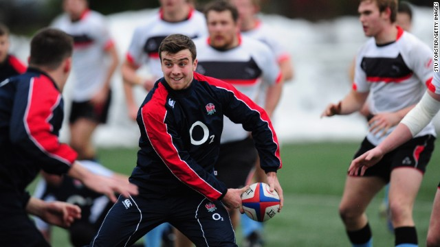 At 16 years and 237 days old, Leicester player George Ford became the youngest professional rugby union player.