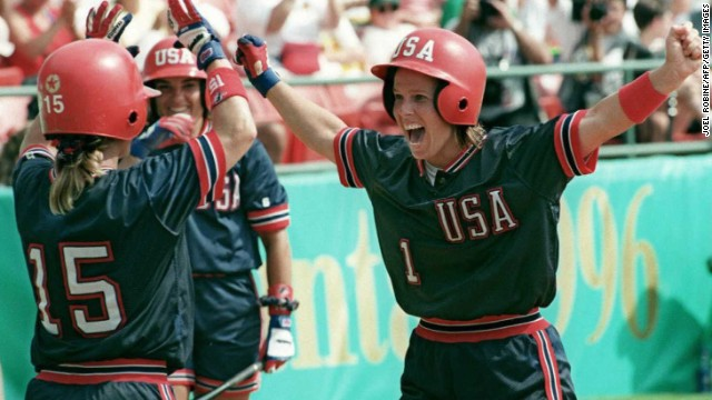 At age 13, Dot Richardson became the youngest woman to play in an Amateur Softball Association of America Women's Major Fast Pitch National Championship.