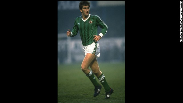 In 1982, Northern Ireland's Norman Whiteside became the youngest player to take the field in the World Cup Finals, his country's opener against Yugoslavia. He was 17 years and 41 days old. On top of 38 appearances for his country, he also had an impressive club career with Everton and at Manchester United, where he still holds the record for youngest goal scorer.
