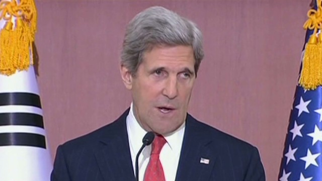 Kerry calls out North Korea rhetoric, calls for talks in denuclearization - Jim Clancy reports