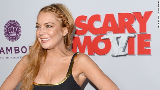 Lohan's 'Scary Movie 5' co-stars have her back