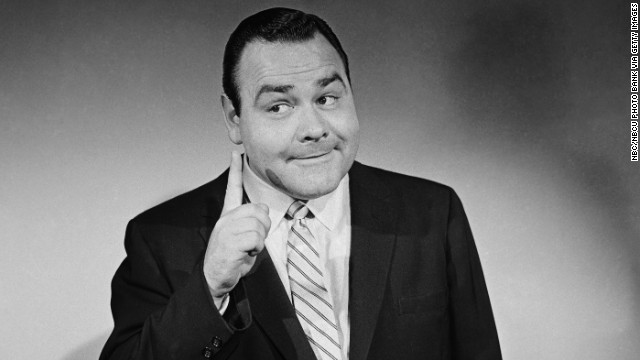 Comedian Jonathan Winters died on April 11 at age 87. Known for his comic irreverence, he had a major influence on a generation of comedians. Here he appears on &quot;The Jonathan Winters Show&quot; in 1956. 