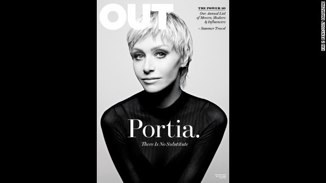 Portia de Rossi: 'It's just going to be me and Ellen and no babies'