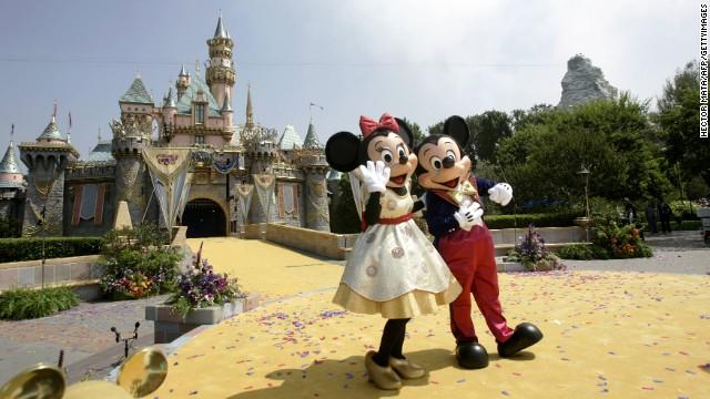 Disneyland worker arrested after explosion