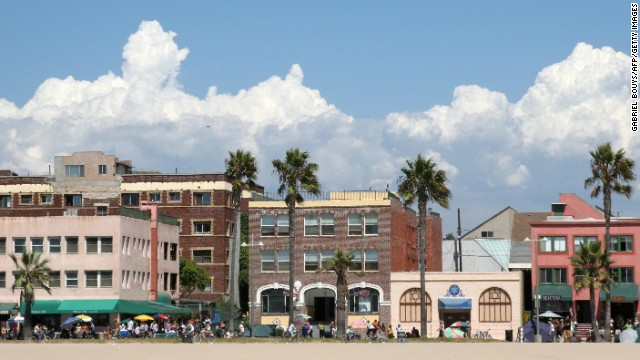 Venice Beach was a haven for the Beat Generation in the 1950s and '60s. Residents have much deeper pockets now, but the lively boardwalk still draws a diverse crowd of characters, offering great people-watching.