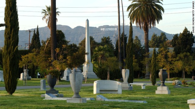 Visit some of Hollywood's past luminaries at the Hollywood Forever Cemetery.