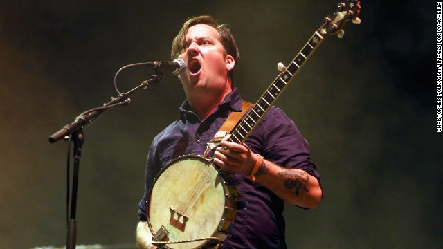 Isaac Brock of Modest Mouse performs on April 12.