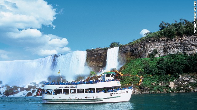 <strong><a href='http://www.maidofthemist.com' target='_blank'>Maid of the Mist, Niagara Falls, New York.</a></strong> These boat tours provide stunning views from the base of Niagara Falls. The 2013 season begins April 19.