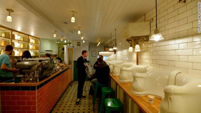 You gotta go to restaurants in former London toilets